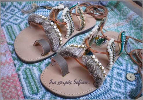 Blue Lagoon sandals